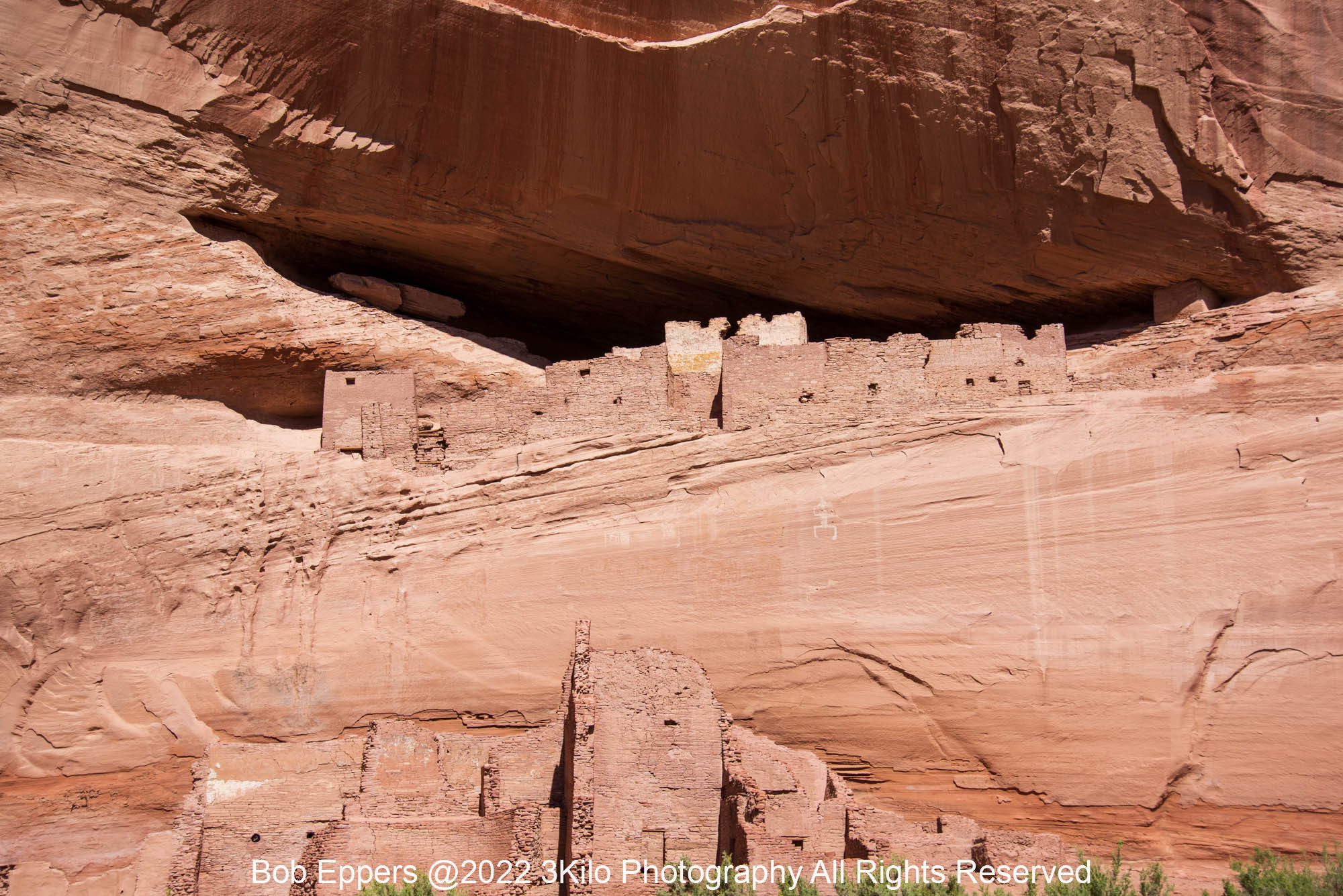 Photo of The White House in Canyon de Chelly/