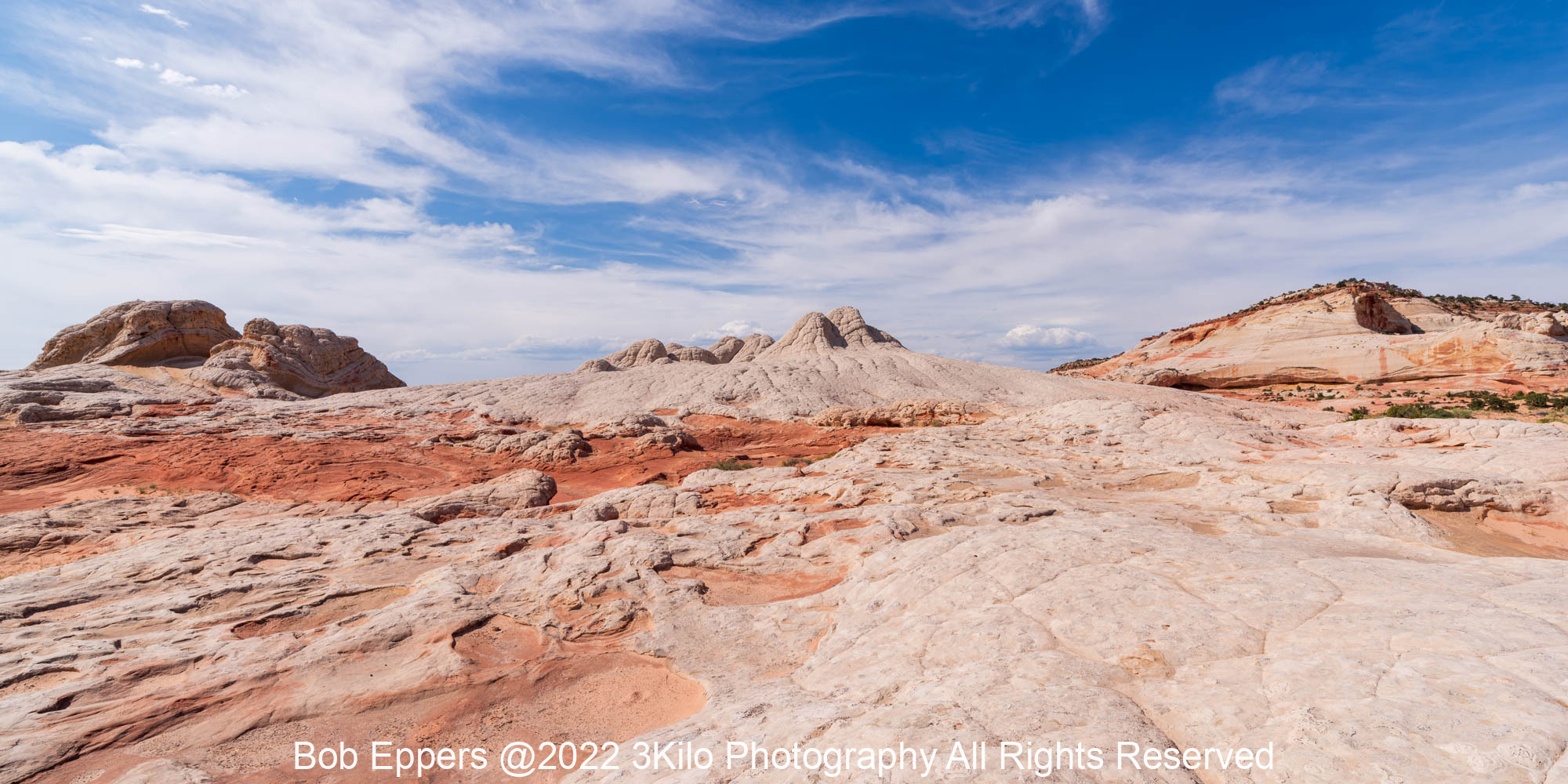 Photo of White pocket in Arizona.