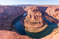 Photo of the Horseshoe Bend of the Colorado River