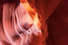 Photo taken at the Upper Antelope Canyon