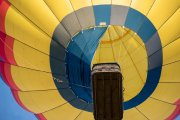 Photo of a Hot Air Balloon being launched at the Temecula Wine Festival