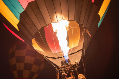 Photo of Balloon Glow at the Prescott Balloon Festival