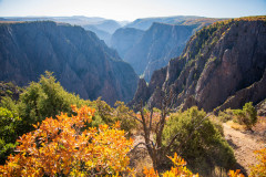 Photo of the Black Canyon of the Gunnison NP