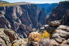 Photo of the Black Canyon of the Gunnison