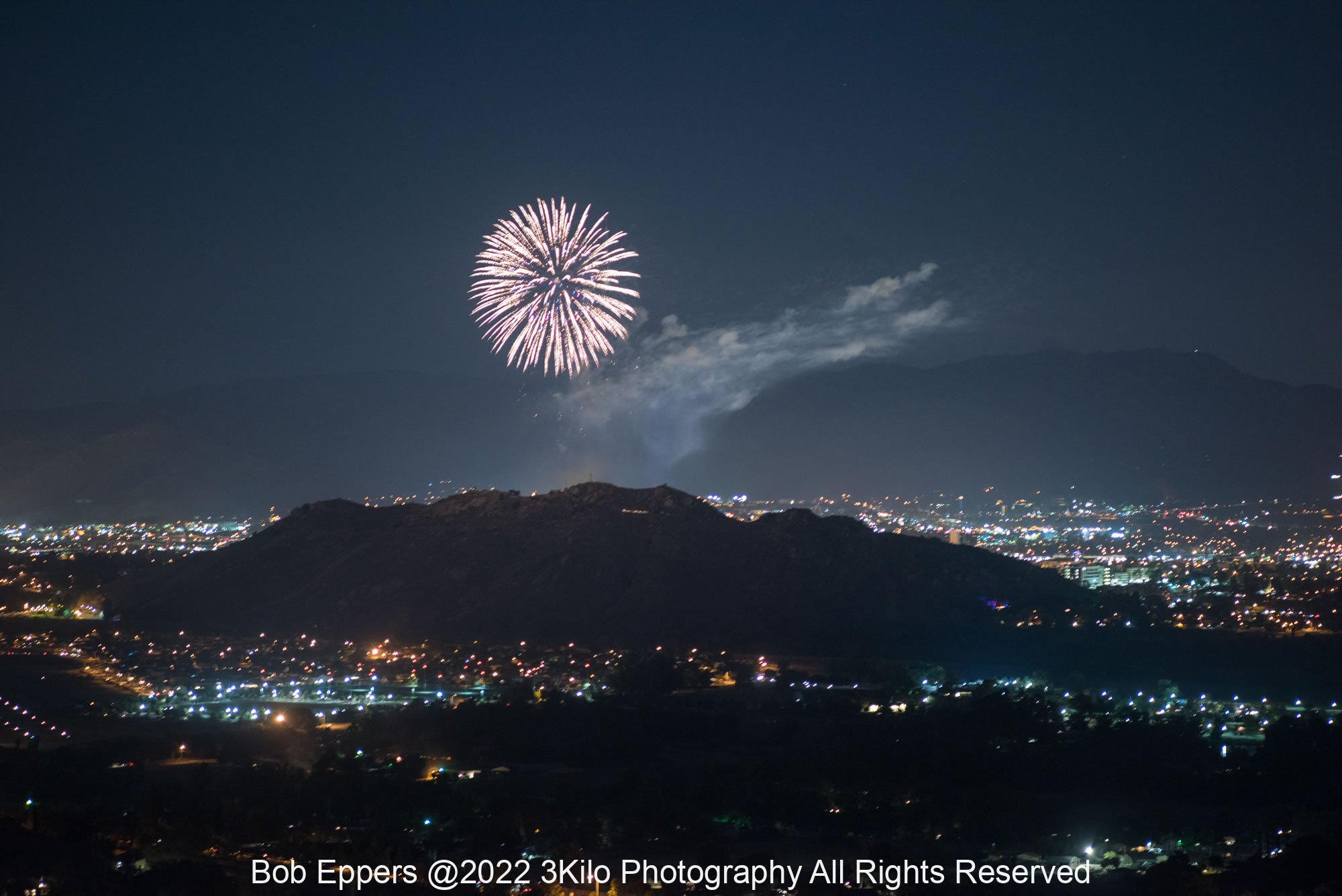 Photo of 4th of July Fireworks at Riverside, CA