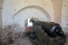 Photo of one of the Main Guns at Fort Pulaski near Savannah, GA