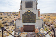 Photo of the Bodie Memorial