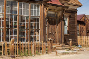 Photo of an abandoned store in Bodie, CA.  The owners just locked the door and went away !