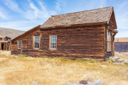 Photo of an old house in Bodie, CA