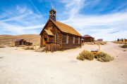 Photo of an Old Church in Bodie, CA