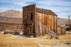 Photo of the Ready to Collapse Building in Bodie, CA