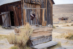 Photo of an Old Well in Bodie, CA