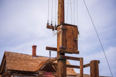 Photo of State of the Art Electrical in Bodie.  Circa 1900