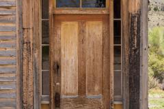 Photo of an Old Door in Bannack