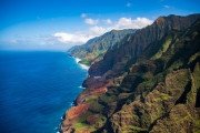 Photo of the NaPali Coastline in Kauai, Hawaii