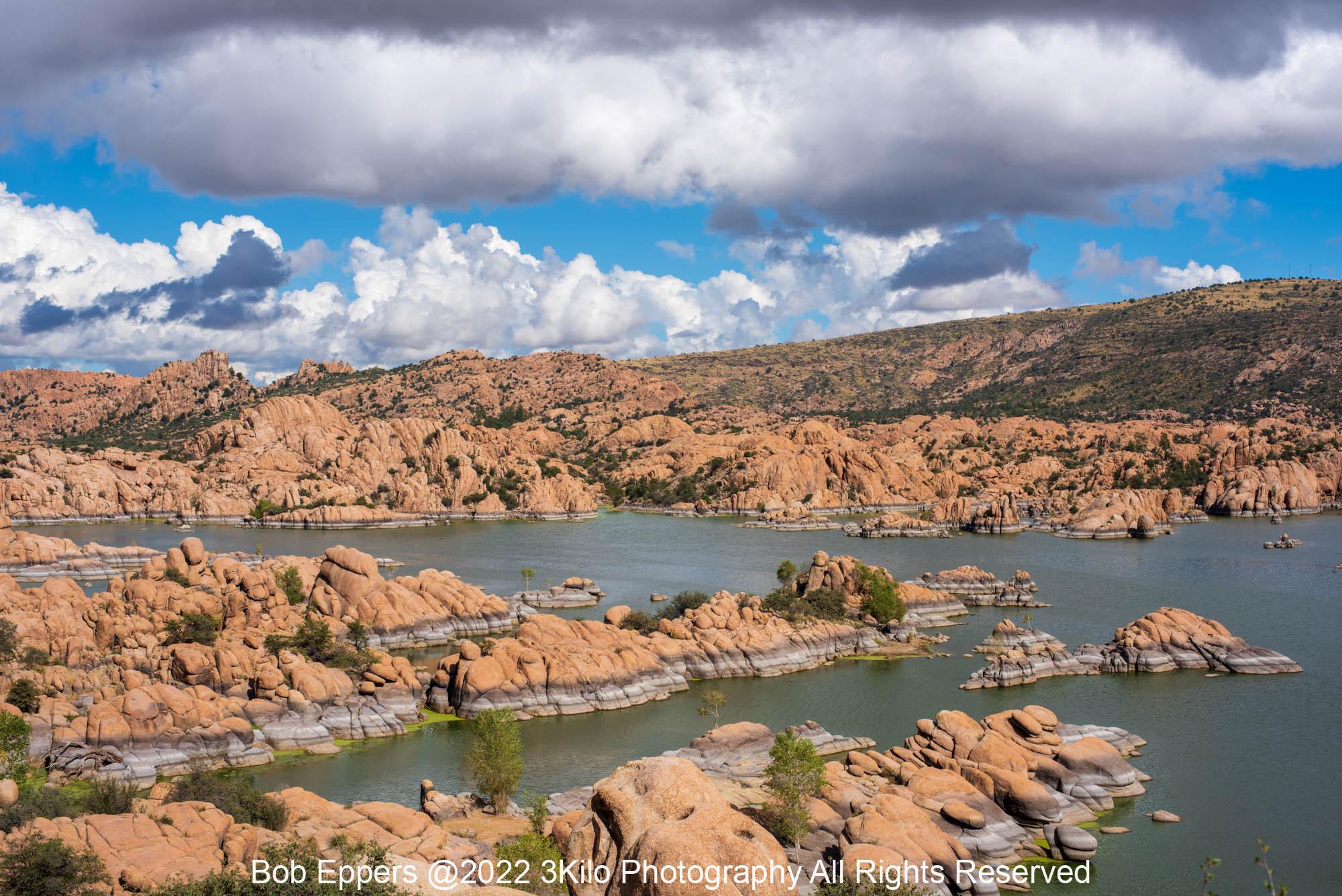 Photo of Sky and Water at Watson Lake at Prescott, AZ