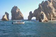 Photo of the Hole in the Wall at Lands End in Cabo San Lucas, Mexico