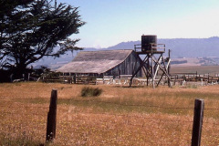 Photo of an Old Barn taken along the Mendocino Coast in Northern CA.  This was taken from a 35mm slide over 40 years ago.