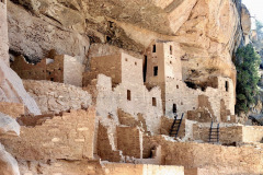 Photo taken at Mesa Verde Cliff Dwellings in CO.  This was taken from a 35mm slide over 20 years ago.