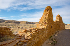 Photo of Ancient Wall at Chaco Canyon