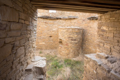 Photo of Ancient Living Quarters at Chaco Canyon