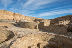 Photo of Ceremonial Pits at Chaco Canyon