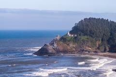 Photo of Heceta Head on the Oregon Coast