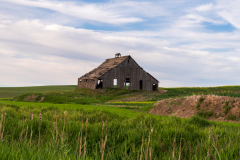 Photo of an Abandoned Barn in the Palouse