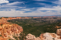 Photo of Bryce Canyon from 9100 feet.