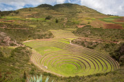 Photo of Inca Terracing in the Sacred Valley, Peru