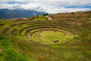 Photo  of Inca Circular Terracing in the Sacred Valley, Peru