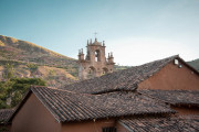 Photo of a Monastery in the Sacred Valley, Peru