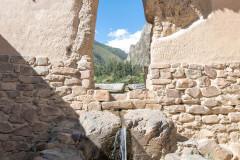 Photo of a Natural Spring in Ollantaytambo Fortress