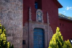 Photo of the Church at the Monastery in Ollantaytambo.