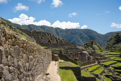 Photo of Machu Picchu from the Main Entrance