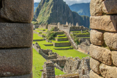 Photo of a Gateway in Machu Picchu, Peru.
