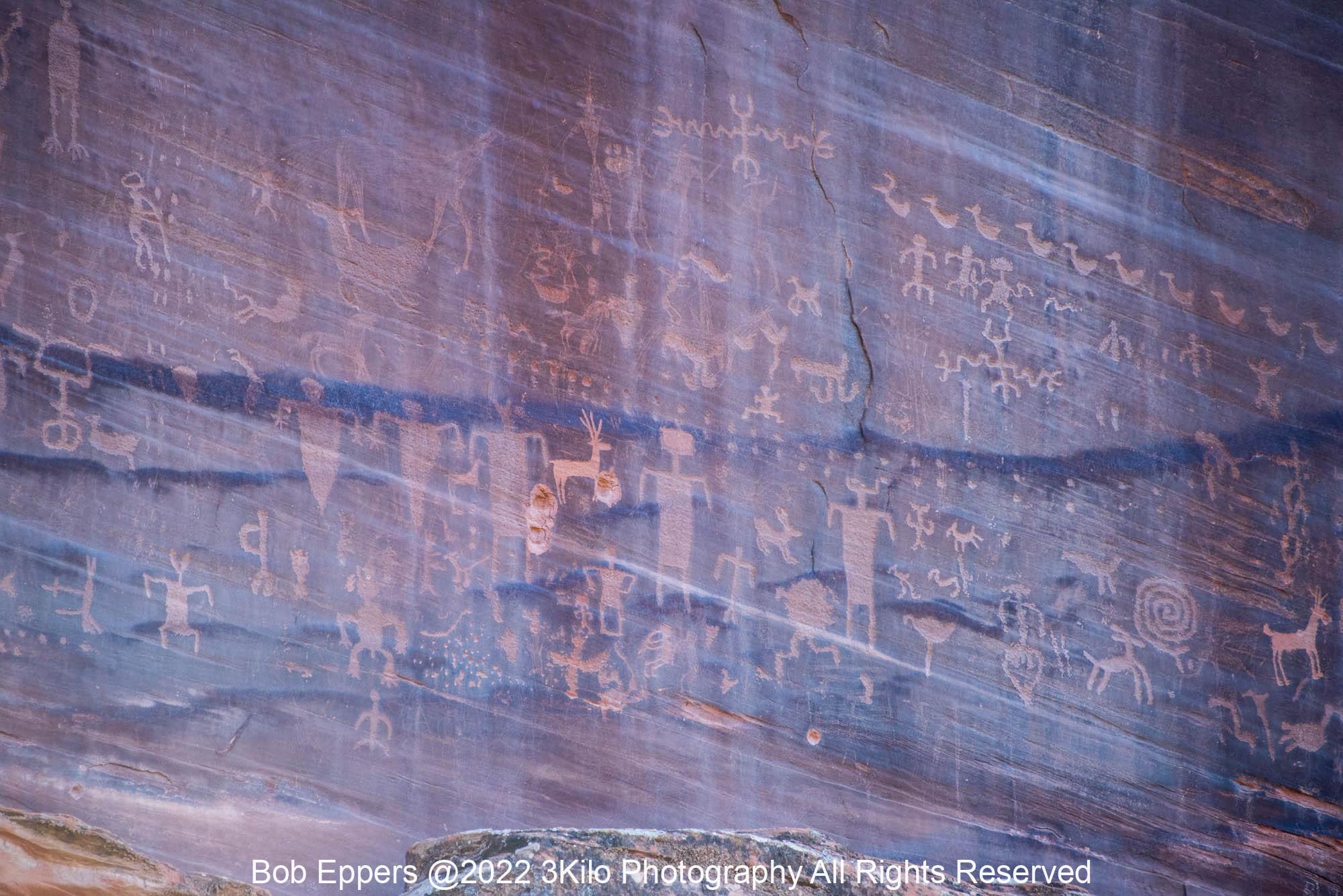 Photo of a Canyon de Chelly Petroglyph