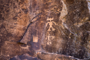 Photo of Petroglyphs in Chevelon Creek, AZ