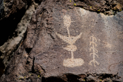 Photo of Petroglyphs in the Coso Mountains, CA