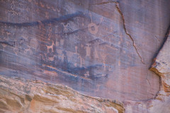 Photo of a Canyon de Chelly petroglyph
