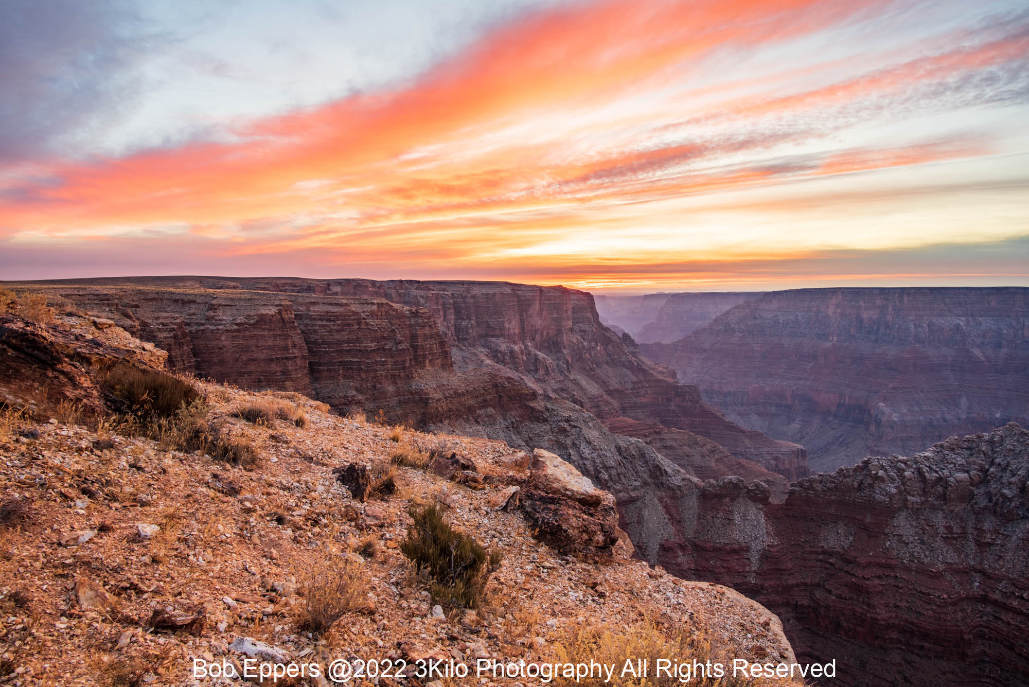 Photo of the North Rim of the Grand Canyon at Sunrise
