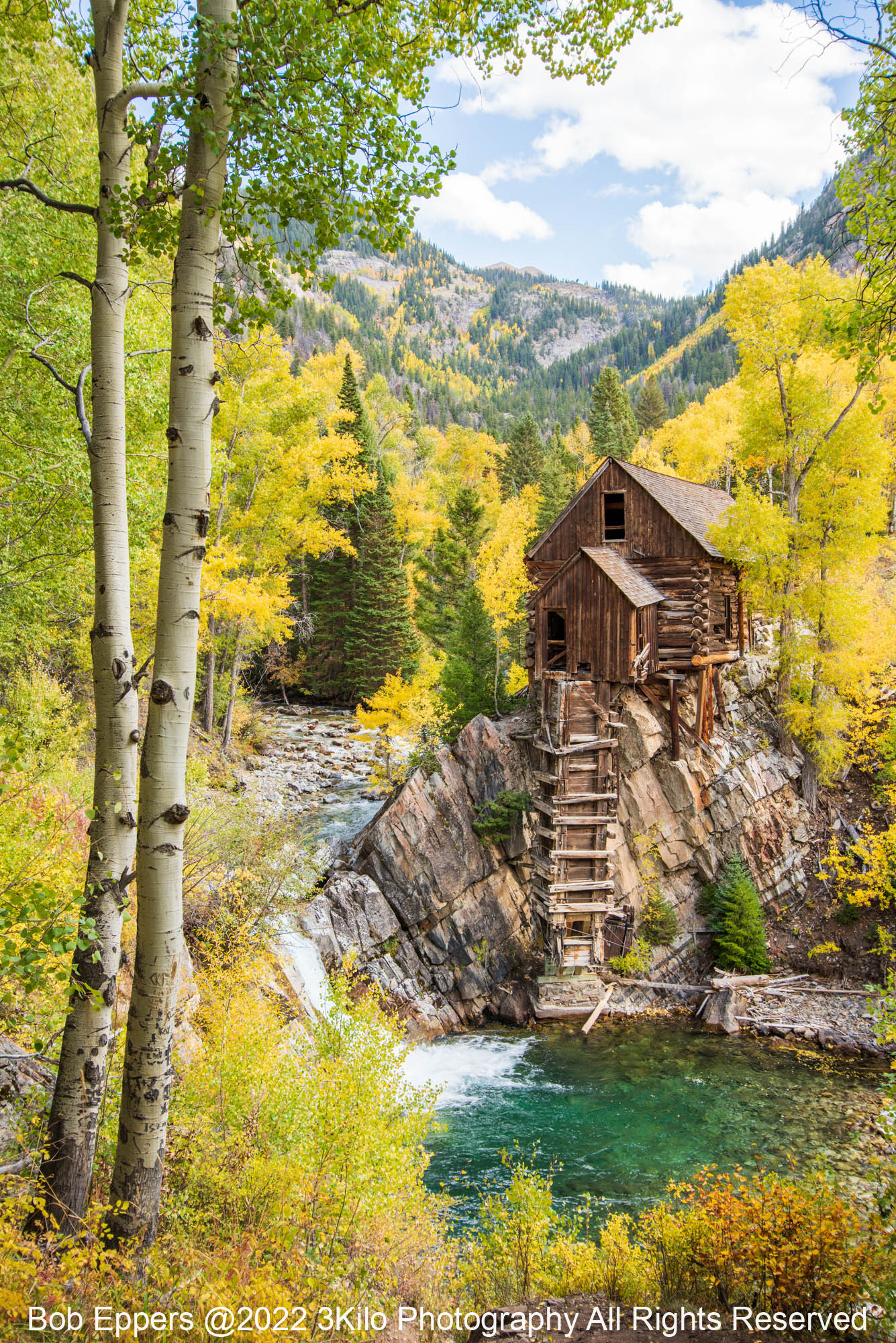Photo of The Old Crystal Mill in Colorado