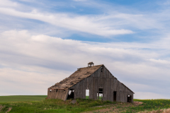Photo of an Old Barn in the Palouse early morning