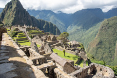 Photo taken at Machu Picchu