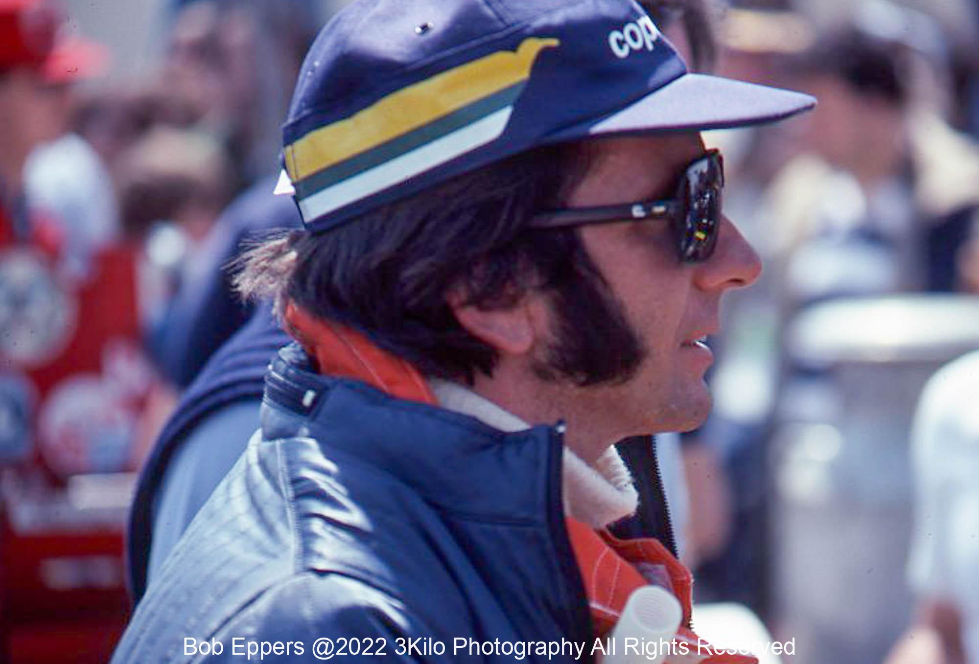 Photo of Emerson Fittipaldi.  1977 F1 LBGP