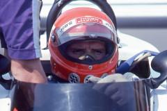 Photo of F1 Surtees with driver Vittorio Brambilla. 1977 F1 LBGP