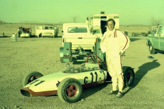 Photo of myself and my Formula C car at Willow Springs