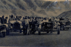 Photo of Dirt Track Racing in Argentina.  1940's