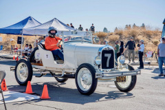 Photo of me and the Speedster at the 2019 Murrieta Hillclimb