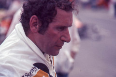 Photo  of driver Vittorio Brambilla, the Monza Gorilla, 1977 F1 LBGP